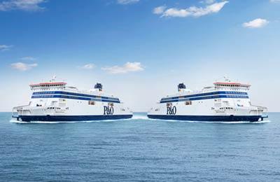 P&O Ferries Fracht
