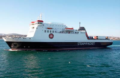 Isle of Man Steam Packet Fracht